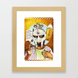 FIGARO: DOOM is my Religion Framed Art Print
