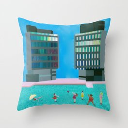 The Square Throw Pillow