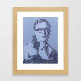 Michael Caine - Harry Palmer Framed Art Print