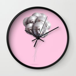 Disco Balloons Wall Clock