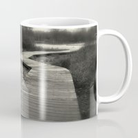 boardwalk empire Mugs featuring Boardwalk by Curt Saunier