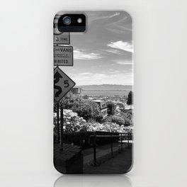 San Francisco Lombard Street iPhone Case