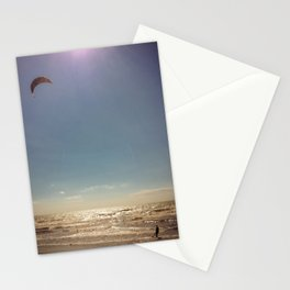 Kite surf Stationery Cards