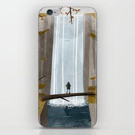 The Fall iPhone Skin