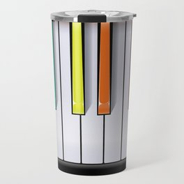 Colour Your Music Travel Mug