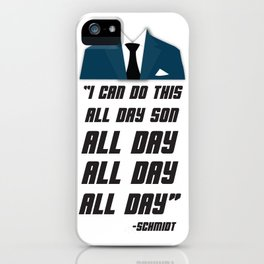 All Day | New Girl iPhone Case