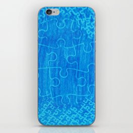 Life is a puzzle 7 iPhone Skin