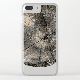 Stump 12 Clear iPhone Case