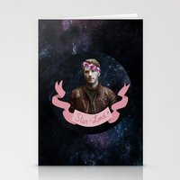 star lord Stationery Cards featuring Star-Lord by adelinotte