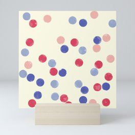 WATERCOLOR CONFETTI Mini Art Print