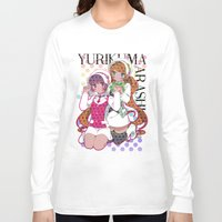 yaoi Long Sleeve T-shirts featuring Yuri Kuma Arashi by Neo Crystal Tokyo