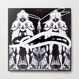 FOUR ZERO Metal Print