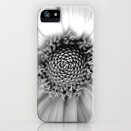 Maximilian in Black and White iPhone Case