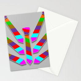Striped Tie Stationery Cards