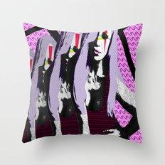 Donatella. Throw Pillow