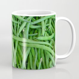 Fresh green beans Coffee Mug