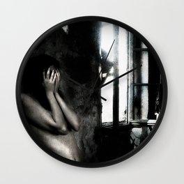 Silent Cries Wall Clock