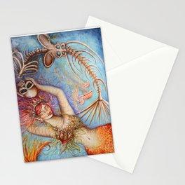 Morte by Nefertara Stationery Cards