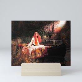 Vivid Retro - The Lady of Shalott Mini Art Print