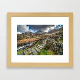 Gate to Snowdonia Framed Art Print