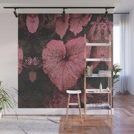 Deep Peach Heart Wall Mural