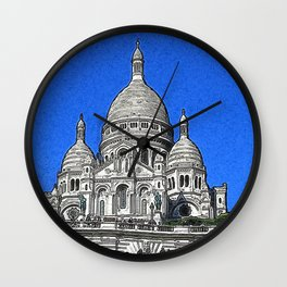 Paris_20190402_by_JAMColors Wall Clock