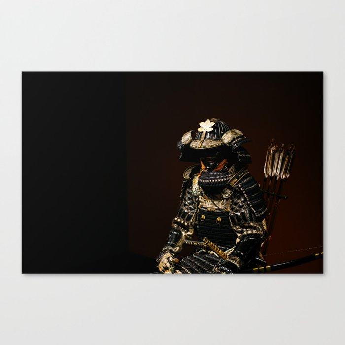 Samurai Armor Leinwanddruck