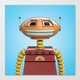 Scott the robot. Canvas Print