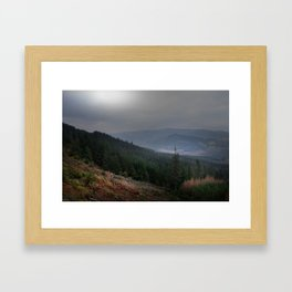 Crone Woods Framed Art Print