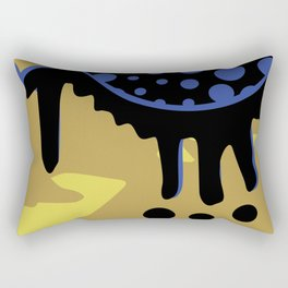 Melting Planet Rectangular Pillow