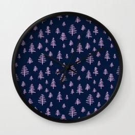 Rotten Trees Wall Clock