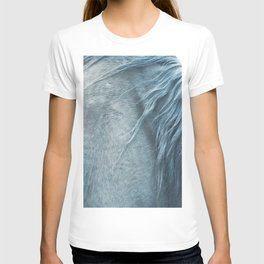 Wild horse photography, fine art print of the mane, for animal lovers, home decor T-shirt