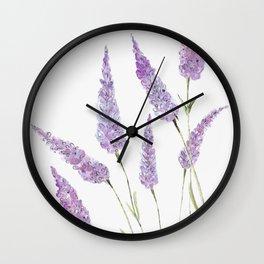 Lavander Wall Clock