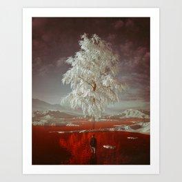 BLOODFROST (everyday 07.15.18) Art Print