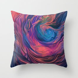 Mood (Trippin') Throw Pillow