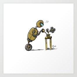 Robotany Art Print