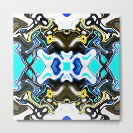 Double Crochet OG Metal Print