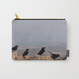 Birds of Masada Carry-All Pouch