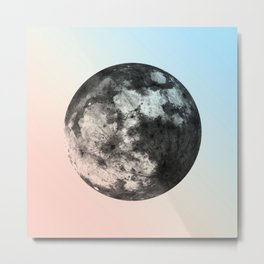 Not My Princess, Moon. Metal Print