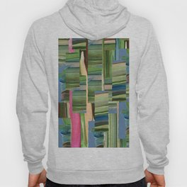 Painted Paper Collage Hoody