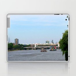 View of the River Thames from the Albert Bridge in London Laptop & iPad Skin