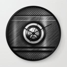 Dark Steel Wall Clock