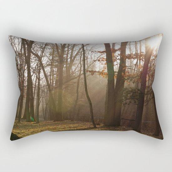 Sunlit Morning Rectangular Pillow