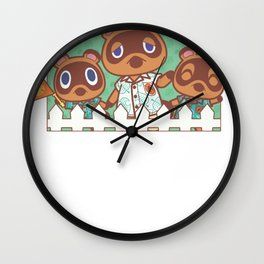 Nintendo Merch: Animal Crossing Official Merchandise Store Wall Clock