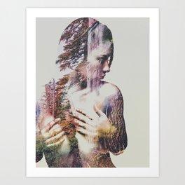 Wilderness Heart III Art Print