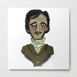 Poe-tiful Metal Print