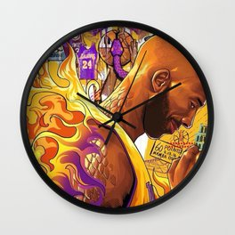 black mamba Wall Clock