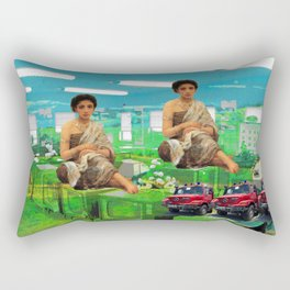 THE TELEVISION FACTORY II Rectangular Pillow