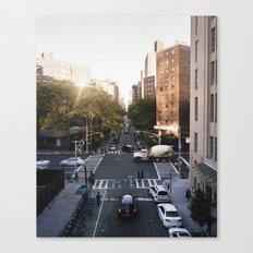 Manhattan Streets Canvas Print