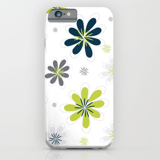 Simple Multi Flower iPhone & iPod Case